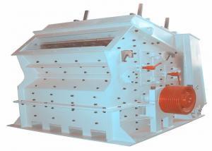 China CE Approval Industrial Slag Impact Rock Crusher 0-100 Mm 185-260 T / H on sale