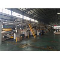 Professional Corrugated Cardboard Machine 1400 - 2200mm Working Width