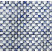 China 30*30 water-prove glass mosaic——11pcs/sqm/carton, 72 cartons/pallet, 20 pallets/container. on sale