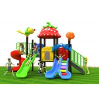China Anti Static Outdoor Playground Slide , Toddler Garden Slide For 3 - 8 Years Old on sale