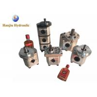 Customized Hydraulic Gear Pump Simple / Compact Structure For Mini Loaders
