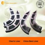 Pearlitic Cr-Mo Alloy Steel Mill Liners High Stability Noise Reduction