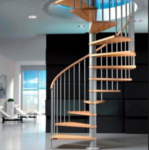 Quality Modern Design Spiral Staircase Kits For Small Space House Helical  Stair For Sale ...