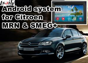 China Android GPS navigation box video interface for Citroen SMEG+ MRN Car GPS Navigation System on sale