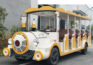 China Mini Electric Tourist Vehicles Electric Resort Cart 250kg Heavy Load on sale