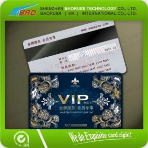 China cartes en plastique des cartes de PVC/VIP/cartes d'adhésion on sale