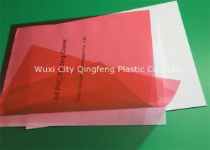 China 0.20MM PVC Binding Covers Clear Finish A4 Clear Front Report Cover on sale