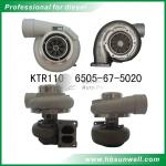 Komatsu SAA12V140E-3B Turbocharger KTR110L 6505-67-5020  6505-67-5040  6505-67-5030 For D155AX-5 bulldozer
