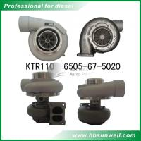 Komatsu SAA12V140E-3B Turbocharger KTR110L 6505-67-5020  6505-67-5040  6505-67-5030 For D155AX-5 bulldozer