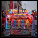 幸せなダンス!携帯用小型マイアミの娯楽謝肉祭の乗車