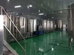 China SS316L Milk Production Line , Dairy Processing Equipment For Fresh Milk Project on sale