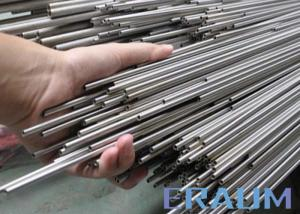 Quality Bright Annealed Nickel Alloy Tube , ISO 9001 / PED , ANSI B36.19 ASTM B829 / for sale