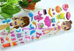 3D Sponge Foam Custom Puffy Stickers Tear Resistant For Great Party Favors Gift