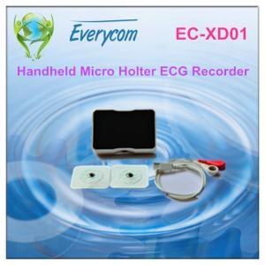 China Multiple Ecg Recording Portable ECG Monitor Handheld Personal ECG Monitor on sale