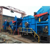 China Single - Shaft  Scrap Metal and Waste Plastic Crusher Machine With Low Power Consumption on sale