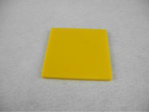 China Heat resistance 180 ℃ Nylon Parts , Nylon sheet / Plate bar insulation Yellow on sale