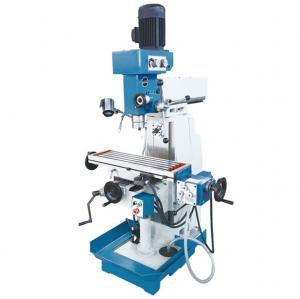 China Manual Operation Drilling And Milling Machine 1.5KW Power With High Accuracy on sale