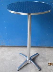 China UV Resistance Garden Outdoor Bar Table / Aluminium Picnic Tables on sale