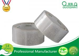 China Hot Melt White Transparent BOPP Packing Tape 1-100MM Width Free Sample on sale