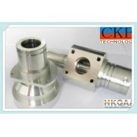Zinc Plating CNC Milling Machine Parts / Polishing Bronze Components For Machine Tool