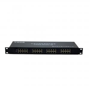 China Rackmount RJ45 surge 16 interface lightning arrester network surge protection on sale