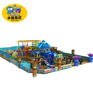 China Commercial Soft Play Equipment , Customized Children Indoor Soft Play Structures on sale