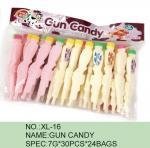 銃乾燥したチョコレート フルーツの粉キャンデーの多色刷りの綿菓子の粉にされた砂糖