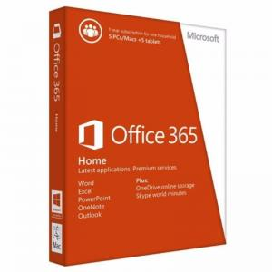 Quality Personal Software Key Code Licensed Microsoft Office 365 Home For 5 Pc Mac for sale