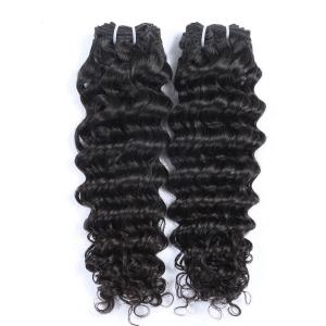 China Unprocessed Deep Wave Intact Virgin Peruvian Hair, ,100 Human Hair Weave Peruvian Virgin Hair Products on sale