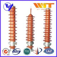 39KV - 51KV Electronic Substation Lightning Arrester with Polymer Housing