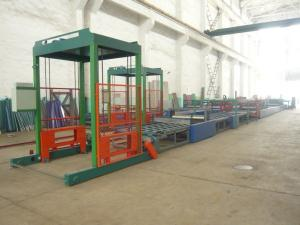 China Light Weight Heat Resistant Wall Panel Roll Forming Machinery For Building Mould Board on sale