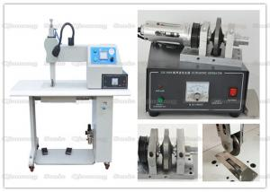 China 35Khz Ultrasonic Textile Sealing And Cutting Machine With Rotary Titanium Wheel on sale