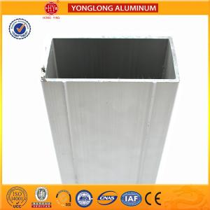 China 6063 Aluminum Extrusion Window Frame Profile Resistance To Dirty on sale