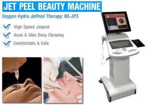 China Oxygen Water Jet Peel Skin Care Machines For Removal Fine Lines / Acne / Scar on sale