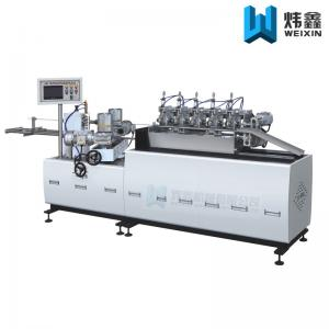China Three Phase Paper Pipe Making Machine For Disposable Drinking Paper Straw on sale