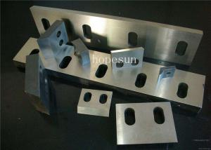 China Recycling Plastic Crusher Machine / Plastic Crusher Blades High Precision on sale
