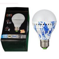 Microwave radar sensor led bulb intelligent lamps ceiling bulbs PIR voice motion sensor