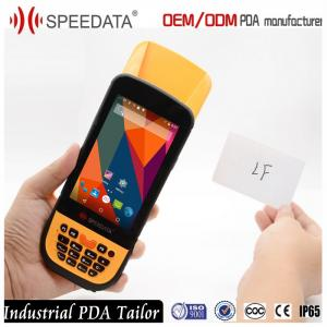 Quality 4.5 Inch Android Rugged Phone 4G Rfid Reader Portable 3M Range 8MP Camera for sale