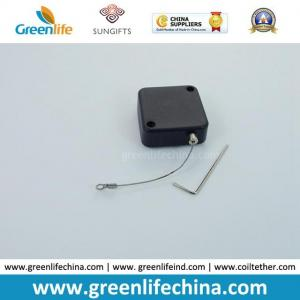 China Security Cable Lockable Square Black Retractor for Jewelry Electronics Displaying on sale