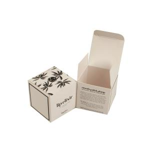 China Carton Custom Printed Paper Boxes Cosmetic Embossed Packaging SGS Approval on sale