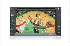 China 6.2 Touch Screen Double Din Dvd Players With English / Simplified Chinese / Traditional Chinesecr-6285 on sale