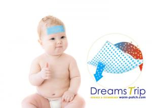 China Ice Compress Cooling Gel Sheet  Eye Pad Reduce Fever Headache for Baby and Adult on sale