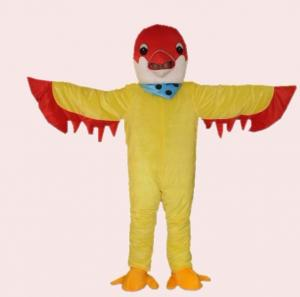 Quality Handmade kids cosplay cartoon birds mascot costumes fancy dress for sale