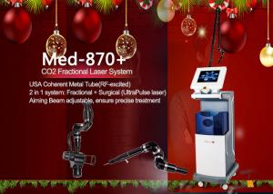 China Professional CO2 Fractional Laser Machine Aiming Beam Adjustable Three Model on sale