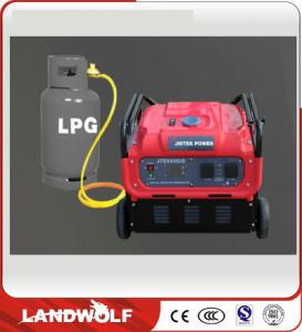 China Portable Industrial Electric Power Generator Set Digital Inverter Generator Fuel Efficient on sale