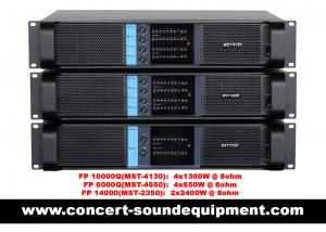 China High Stability 4x1300W Switching Power Amplifier FP 10000Q With Neutrik Connectors on sale