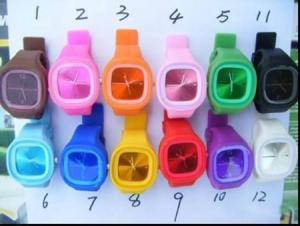 China silicone watch on sale