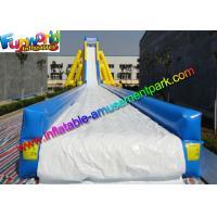 ODM Big Commercial Inflatable Slide Water Splash For Summer Game