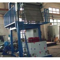 China Latest Design Blown Film Equipment , Pvc Film Making Machine 22KW Motor Power on sale