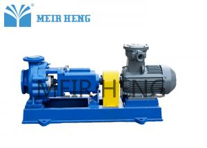 China Anti - Corrosion Centrifugal Chemical Pump Fluorine Plastic Lined Sulfuric Acid Pump on sale